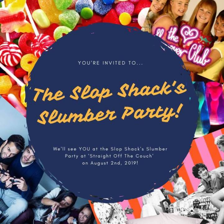 SLUMBER PARTY PROMO